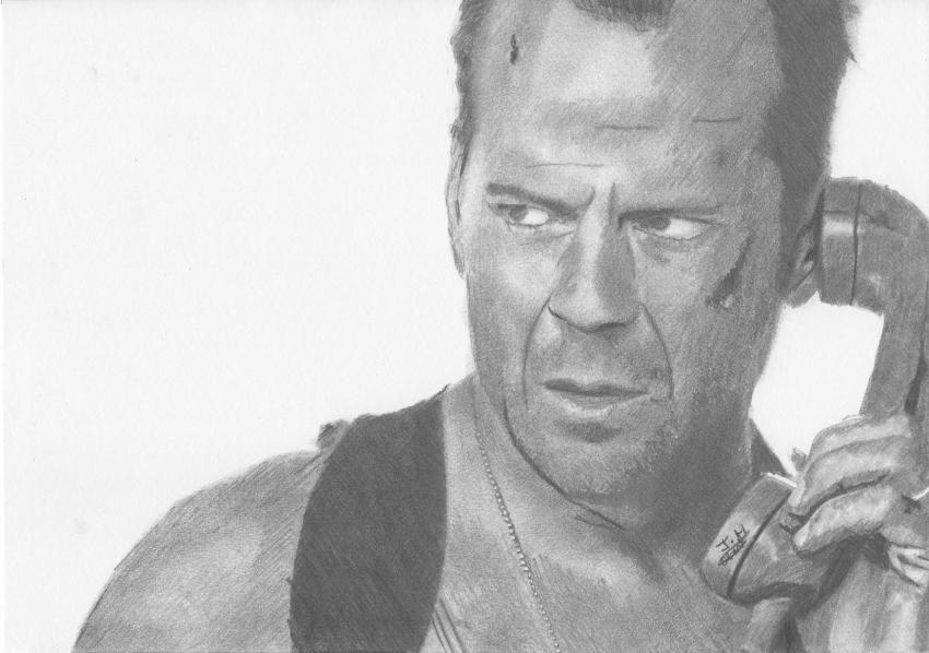 Bruce Willis par Fantomas